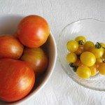 Tomatoes, Tigerella & Yellow Currant